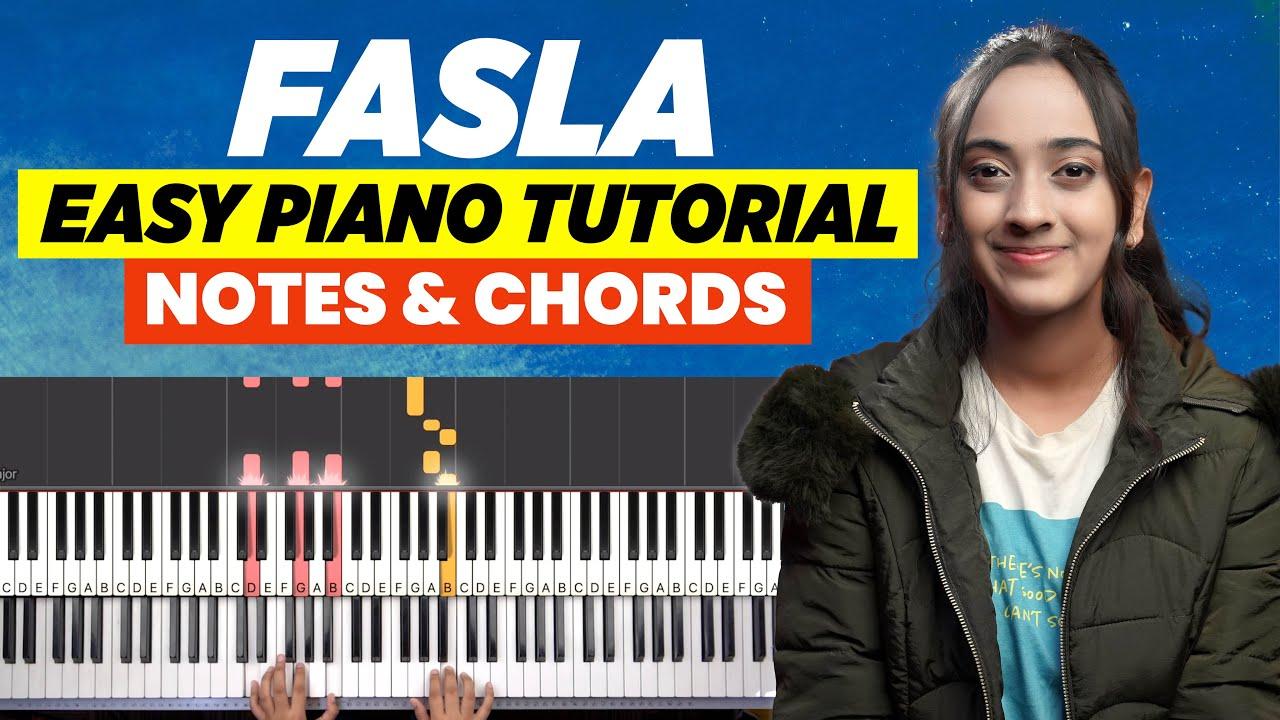 Fasla - Easy Piano/Keyboard Chords and Notes Chart   Yeshu Ke Geet