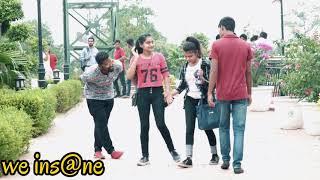 Walking Next To Girls Prank in India | Walking next to people prank | We INsane