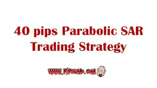Parabolic SAR Moving Average Forex Strategy Settings