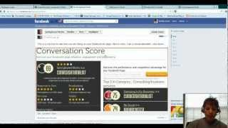 How To See CScore on Facebook Page