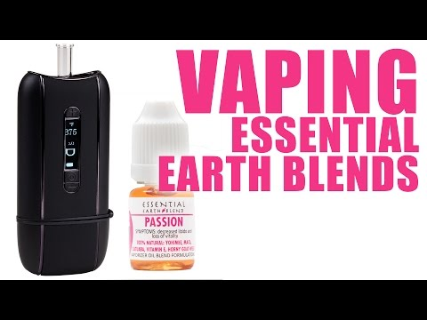 You Can Vape What?! - How To Vape Essential Earth Blends with Ascent Portable Vaporizer