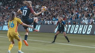 The Best USWNT Highlights of 2016 HD