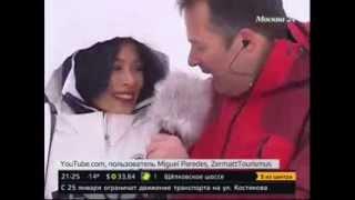 видео vanessa mey ванесса мей первая скрипка на лыжах олимпиада сочи 2014