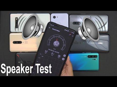 2019 Speaker Sound Test Oneplus7/7Pro, Galaxy S10 Plus, Reno10x Zoom, P30 Pro, Red Magic 3, Pixel 3a