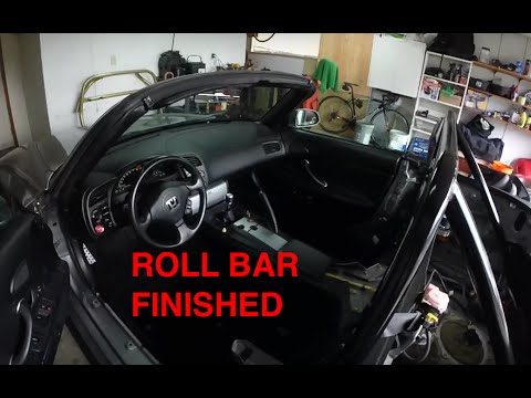 S2000 | Roll Bar and Interior Installed: Part 1