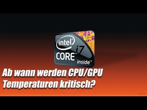Ab Wann Werden GPU/CPU-Temperaturen Kritisch?
