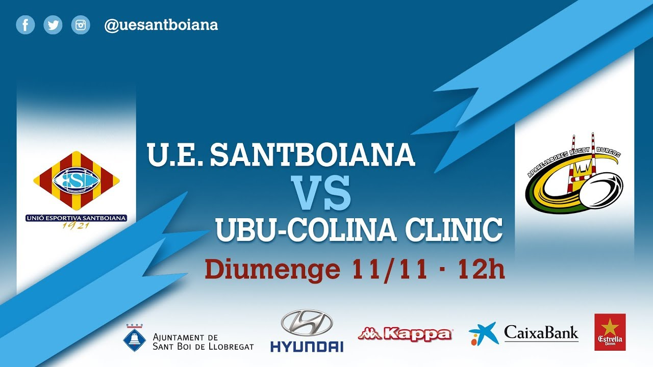 wylot online nowe tanie wysoka jakość Unió Esportiva Santboiana vs UBU-Colina Clinic DH/J8 - YouTube
