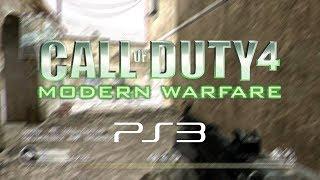 Call of Duty 4: Modern Warfare PS3 in 2018
