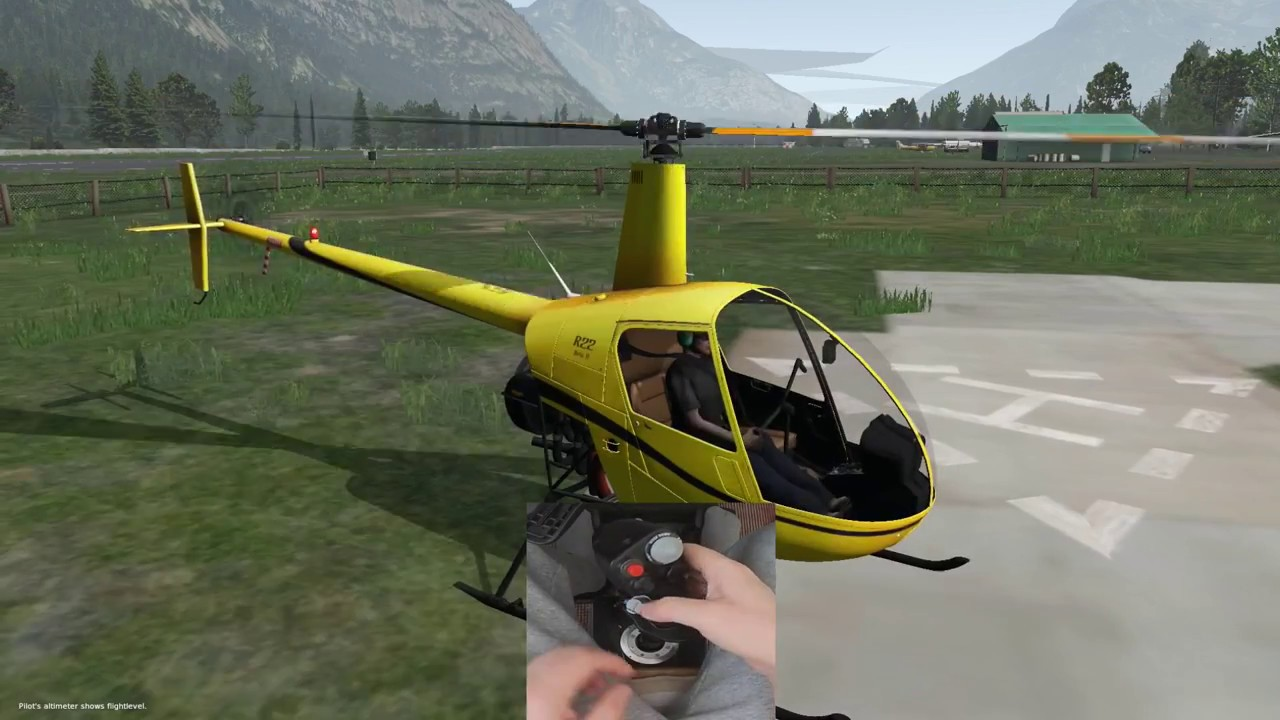 X Plane 11 Helicopter : X plane learning to fly a helicopter like pro