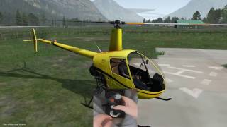 X-PLANE 11 - Learning to fly a helicopter like a pro! - Ep3