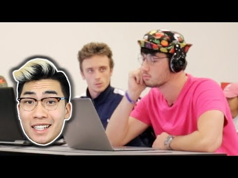 Blasting RICEGUM DISS TRACKS in the Library PRANK