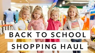 Back To School CLOTHES SHOPPING Haul And FASHION SHOW