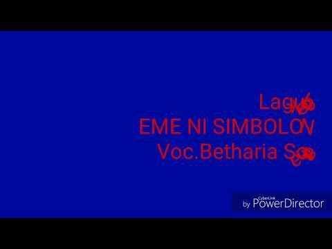 Lirik lagu|eme ni simbolon|lagu batak