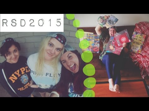 RECORD STORE DAY |VLOG-HAUL| 2015