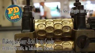 #22 How Victorian Acid Drop Candy is made, using equipment from the 1800s