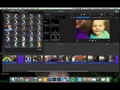 8  iMovie 10 1 - Effects in iMovie
