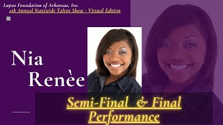 Nia Renee : Semi-Final & Final Performance  : 4th A.S.T.S  (Virtual Edition)