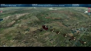 NORAD TRACKER: Santa Claus has made his way to the United States!