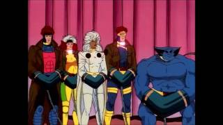 Professor X vs. Emma Frost - X-Men the Animated Series