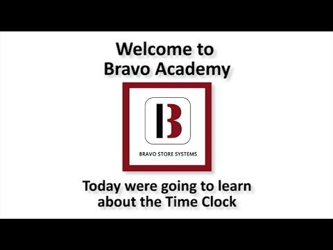 Bravo's Integrated Time Clock
