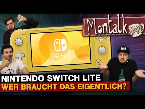 Nintendo Switch Lite: Pro und Contra der Handheld-Version   Montalk #42