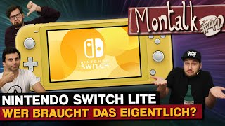 Nintendo Switch Lite: Pro und Contra der Handheld-Version | Montalk #42