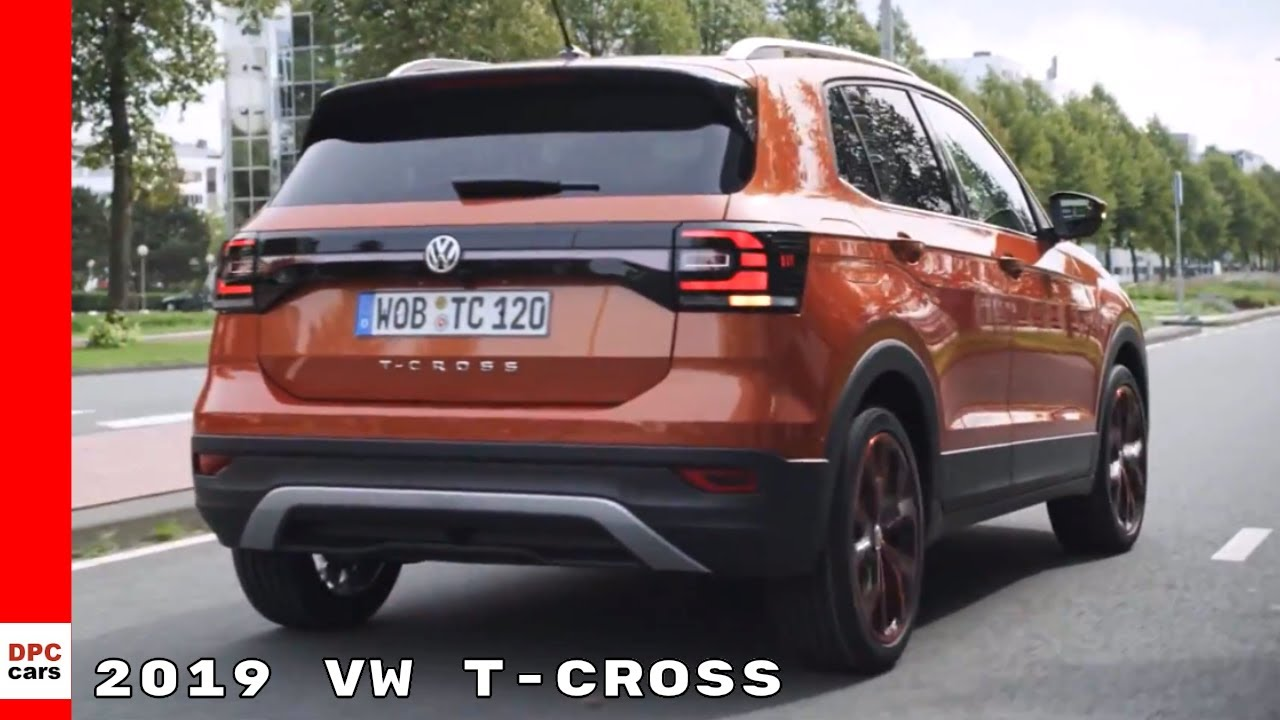 2019 vw t cross youtube. Black Bedroom Furniture Sets. Home Design Ideas