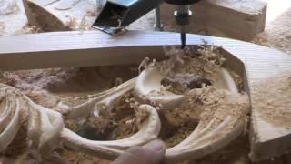Вот так рождается красота ✂ Carving on the CNC machine(Резьба по дереву на ЧПУ станке. Carving on the CNC machine Подписаться на новые видео https://www.youtube.com/user/BAGIRA7722/featured Изюмка..., 2016-08-30T22:21:09.000Z)