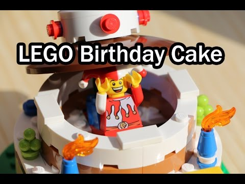 LEGO Birthday Cake REVIEW Set 40153 Geburtstag