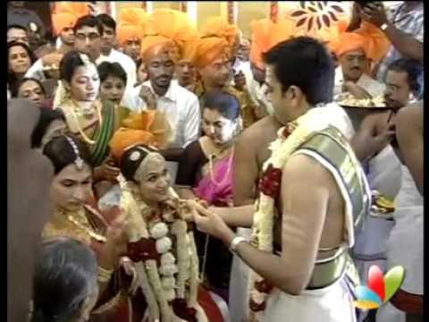 Soundarya, Ashwin's grand wedding - Part 2 - www.RajiniVideos.com