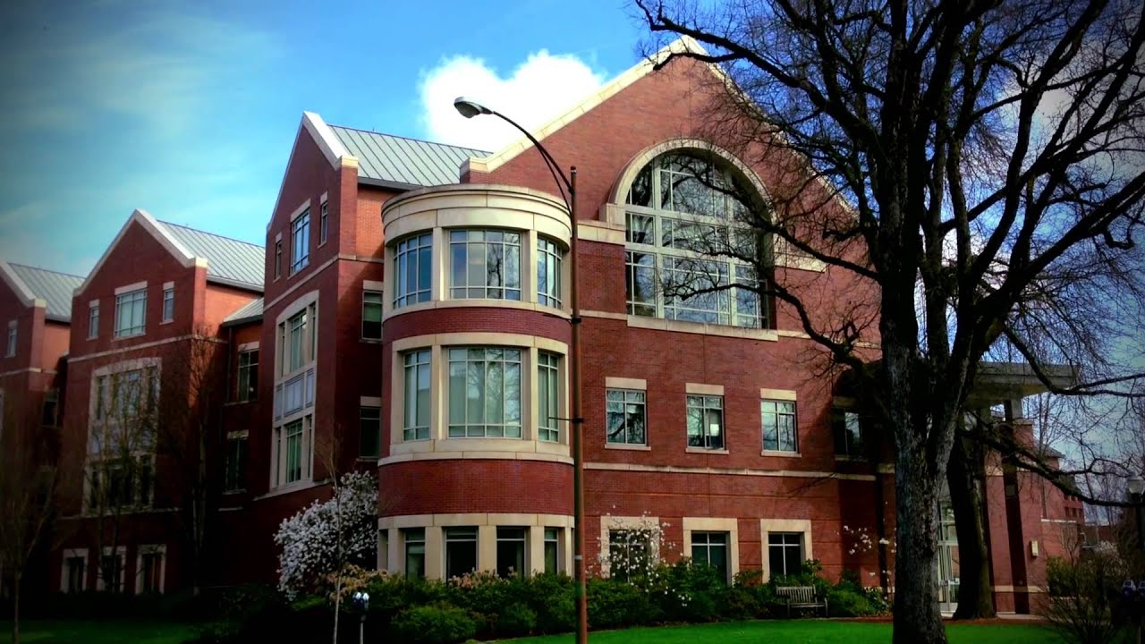 University Of Oregon Campus Tour Video