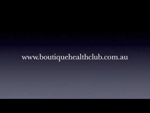 Boutique Health Club Promo