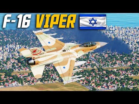 Israeli F-16 Barak Syria Map Palmyra Strike | Digital Combat Simulator.