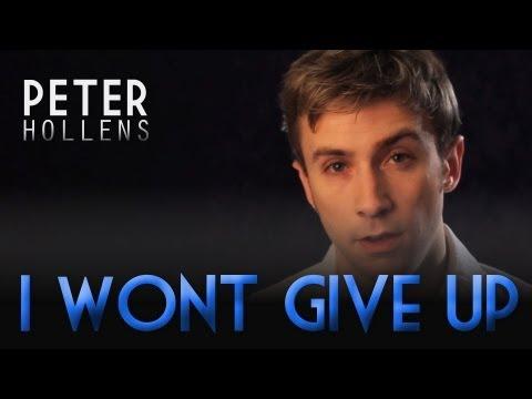 I Won't Give Up - Jason Mraz - Peter Hollens