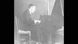 Rachmaninoff plays Debussy Golliwogg