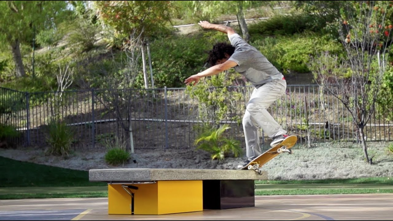 paul rodriguez backyard ledge session youtube