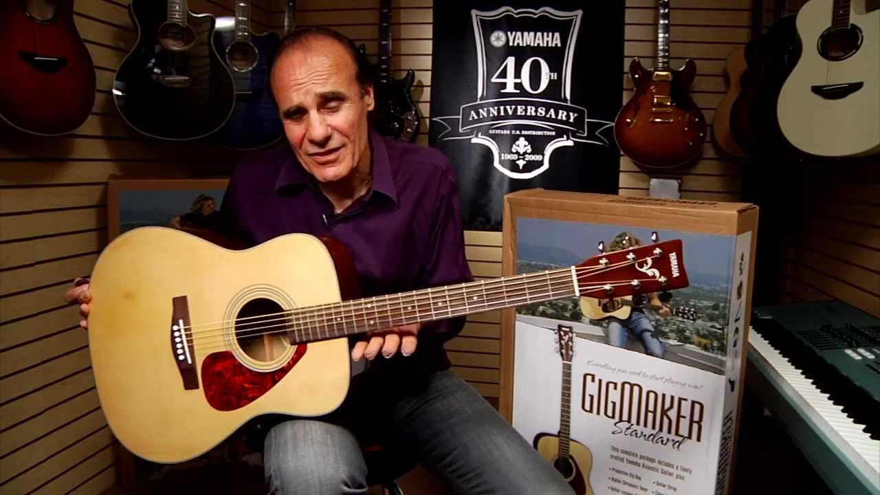 yamaha f325. yamaha f325 acoustic guitar gigmaker standard at hammond organ world - youtube 5