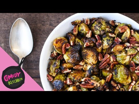 Honey Dijon Brussels Sprouts | Comedy Kitchen