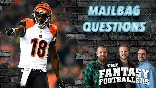 Fantasy Football 2016 - Latest News, Listener Questions, ADP Game - Ep. #239
