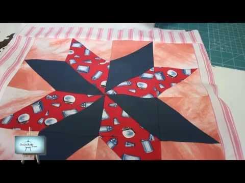 patchwork  parte 1º Técnica HST   CLAUDIA!!!!