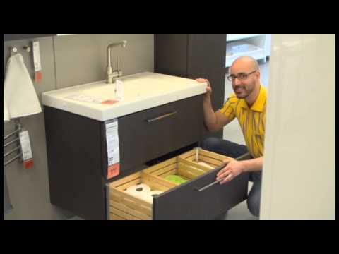 godmorgon sink cabinet ikea home tour youtube. Black Bedroom Furniture Sets. Home Design Ideas