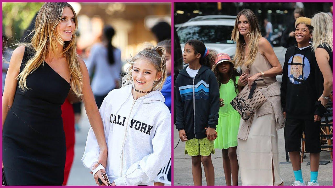 Heidi Klum's Daughters {Helene Samuel