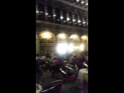 Live Music in Piazza San Marco (Venice, Italy)