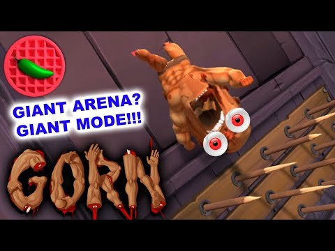 GIANT ARENA? GIANT CORWIN! -- Let's Play Gorn (HTC Vive VR Gameplay)(Steam Early Access)