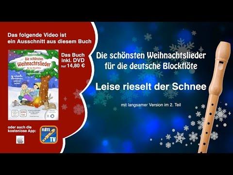 ♬-leise-rieselt-der-schnee-☆-deutsche-blockflöte-☆-weihnachtslieder-☆