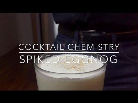 Advanced Techniques - How To Make Spiked Eggnog With Alcohol