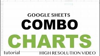 Google Sheets - Combo Chart Tips & Tricks, Combine Line, Bar & Other Graphs Tutorial