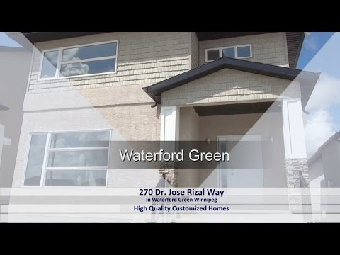 270 Dr. Jose Rizal Way In Waterford Green Winnipeg