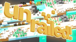 I Crashed The Train In Un-Railed | JeromeACE