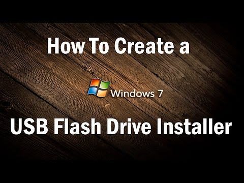 (Easy) How To Make Bootable USB Windows 7 - 2018